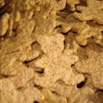 Peanut Butter Bears dog cookies