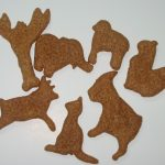bacon animal cookies