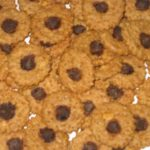 peanut butter carob chip dog cookies